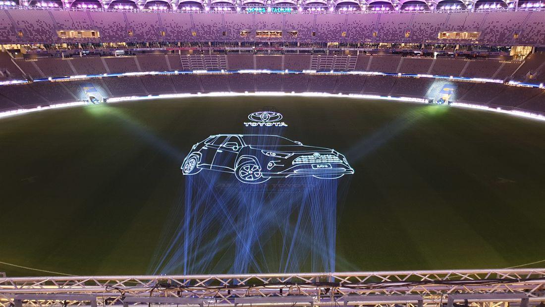 Toyota RAV 4 Launch Optus Stadium Perth