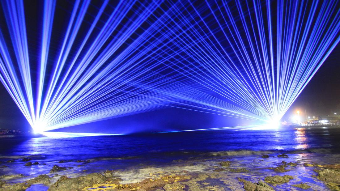 Kiama NYE Laser Show