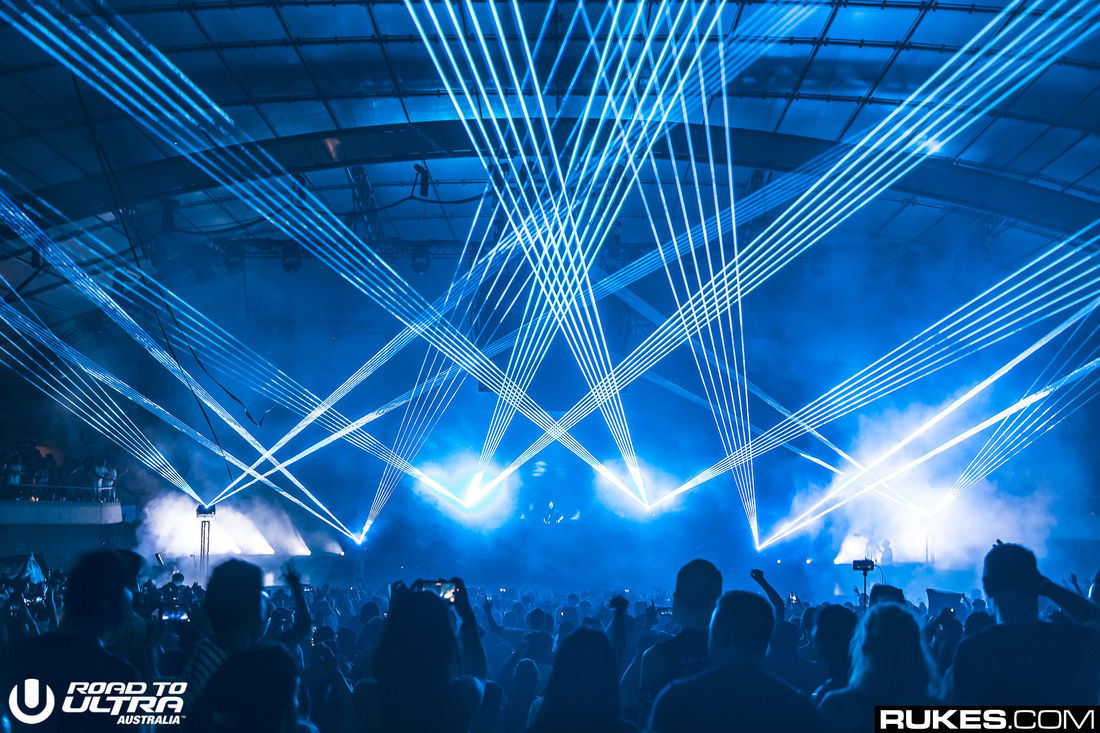 Road to Ultra Sidney Myer Music Bowl
